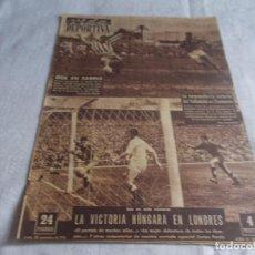 Coleccionismo deportivo: VIDA DEPORTIVA LUNES 30 DE NOVIEMBRE 1953. Lote 98581635