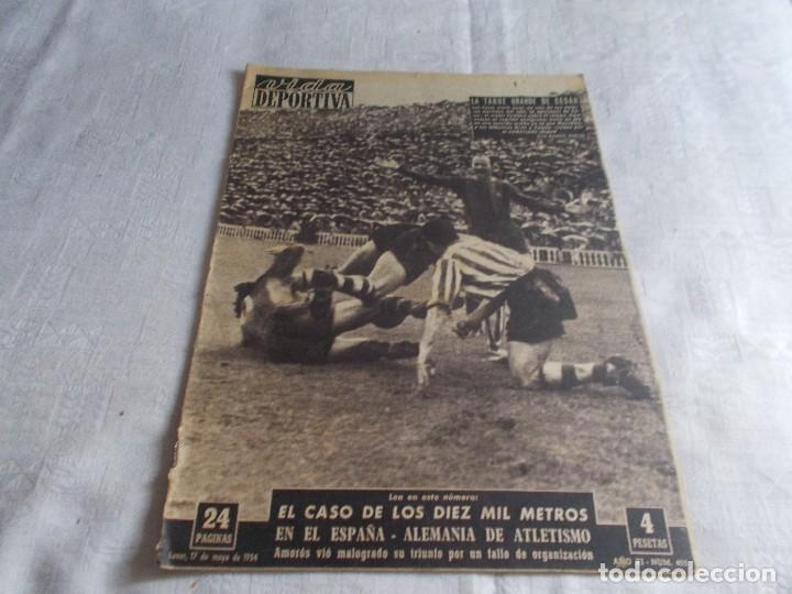 VIDA DEPORTIVA LUNES 17 DE MAYO 1957 (Coleccionismo Deportivo - Revistas y Periódicos - Vida Deportiva)
