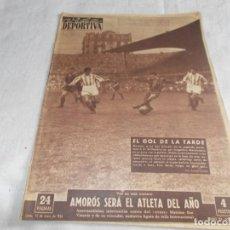 Coleccionismo deportivo: VIDA DEPORTIVA LUNES 25 DE ENERO DE 1954. Lote 98582707