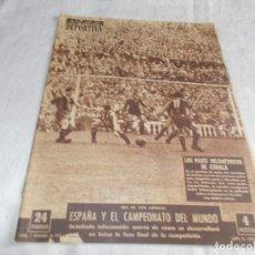 Coleccionismo deportivo: VIDA DEPORTIVA LUNES 7 DE DICIEMBRE 1953. Lote 98583475