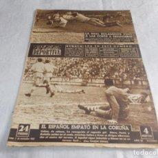 Coleccionismo deportivo: VIDA DEPORTIVA LUNES 2 DE NOVIEMBRE 1952. Lote 98586483