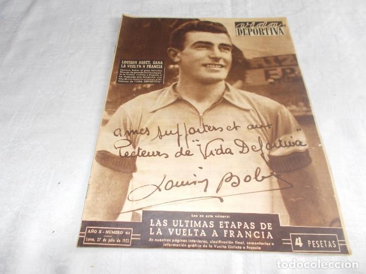 VIDA DEPORTIVA LUNES 27 DE JULIO DE 1953 (Coleccionismo Deportivo - Revistas y Periódicos - Vida Deportiva)