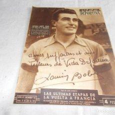 Coleccionismo deportivo: VIDA DEPORTIVA LUNES 27 DE JULIO DE 1953 . Lote 98586611