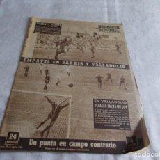 Coleccionismo deportivo: VIDA DEPORTIVA LUNES 28 DE SEPTIEMBRE 1953. Lote 98631675