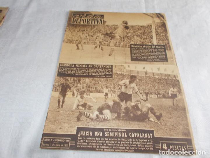 VIDA DEPORTIVA LUNES 1 DE JUNIO DE 1953 (Coleccionismo Deportivo - Revistas y Periódicos - Vida Deportiva)