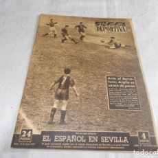 Coleccionismo deportivo: VIDA DEPORTIVA LUNES 10 DE JUNIO DE 1957. Lote 98631919