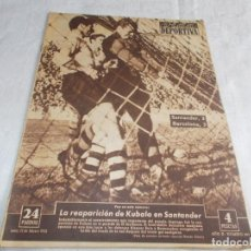 Coleccionismo deportivo: VIDA DEPORTIVA LUNES 23 DE FEBRERO DE1953. Lote 98632059