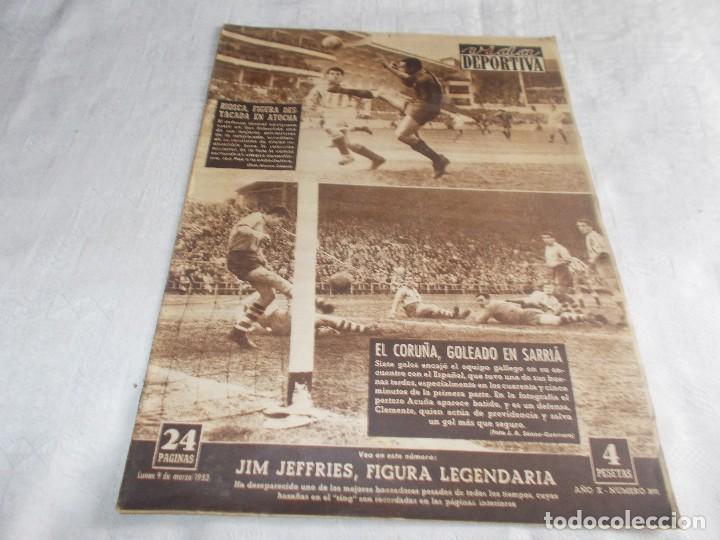 VIDA DEPORTIVA LUNES 9 DE MARZO 1953 (Coleccionismo Deportivo - Revistas y Periódicos - Vida Deportiva)