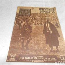Coleccionismo deportivo: VIDA DEPORTIVA LUNES 15 DE DICIEMBRE DE1952. Lote 98632371