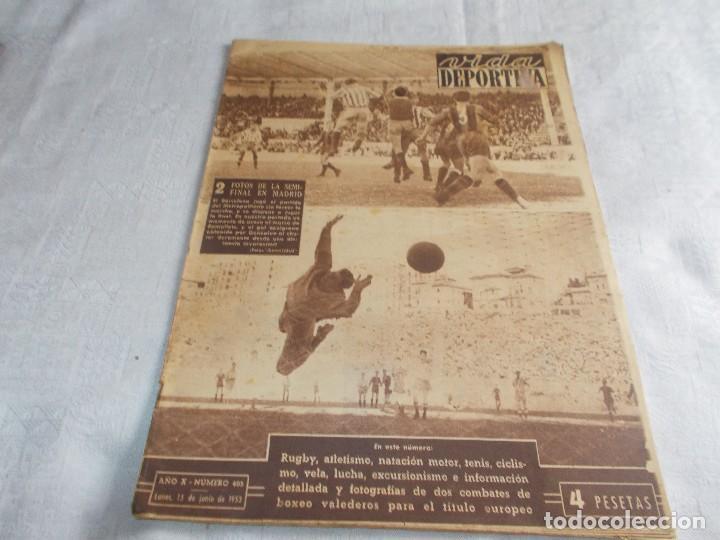 VIDA DEPORTIVA LUNES 15 DE JUNIO DE 1953 (Coleccionismo Deportivo - Revistas y Periódicos - Vida Deportiva)