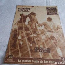 Coleccionismo deportivo: VIDA DEPORTIVA LUNES 20 D OCTUBRE DE 1952. Lote 98632811