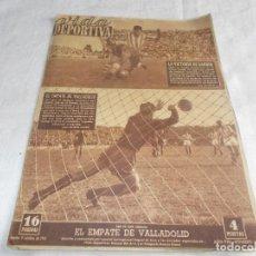 Coleccionismo deportivo: VIDA DEPORTIVA LUNES 9 DE OCTUBRE DE 1951. Lote 98666771
