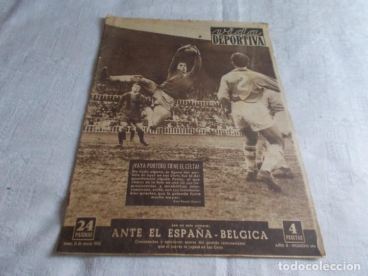 VIDA DEPORTIVA LUNES 16 DE MARZO DE 1953 (Coleccionismo Deportivo - Revistas y Periódicos - Vida Deportiva)