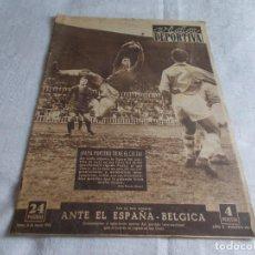 Coleccionismo deportivo: VIDA DEPORTIVA LUNES 16 DE MARZO DE 1953. Lote 98666907