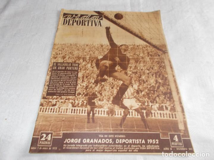 VIDA DEPORTIVA LUNES 5 DE ENERO DE 1953 (Coleccionismo Deportivo - Revistas y Periódicos - Vida Deportiva)
