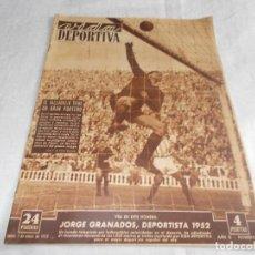 Coleccionismo deportivo: VIDA DEPORTIVA LUNES 5 DE ENERO DE 1953. Lote 98666991