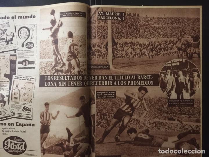 Coleccionismo deportivo: Vida deportiva.Nº 708 . FC Barcelona campeón de liga 1958/59 - Foto 2 - 98833318