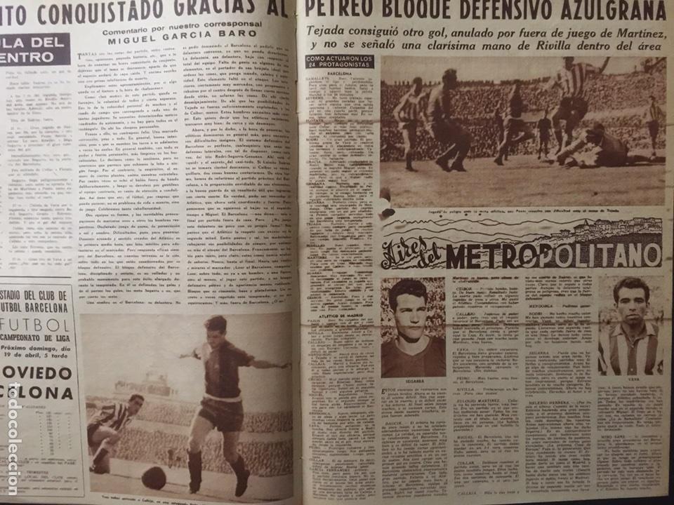Coleccionismo deportivo: Vida deportiva.Nº 708 . FC Barcelona campeón de liga 1958/59 - Foto 3 - 98833318