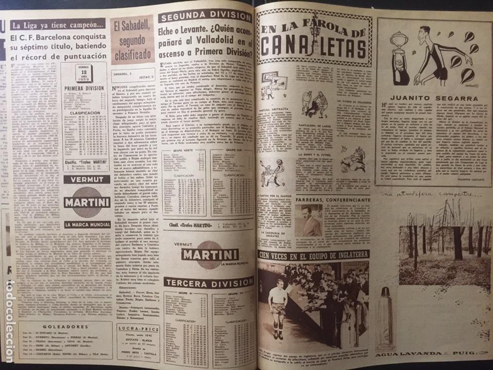 Coleccionismo deportivo: Vida deportiva.Nº 708 . FC Barcelona campeón de liga 1958/59 - Foto 4 - 98833318