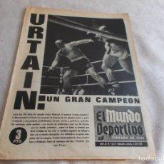 Coleccionismo deportivo: EL MUNDO DEPORTIVO SABADO 4 ABRIL 1970. Lote 98864487
