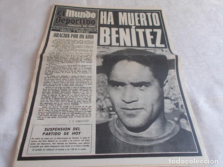 EL MUNDO DEPORTIVO 7 DE ABRIL DE 1968 (Coleccionismo Deportivo - Revistas y Periódicos - Mundo Deportivo)