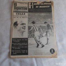 Coleccionismo deportivo: EL MUNDO DEPORTIVO SÁBADO 1 DE JUNIO 1968. Lote 98879455