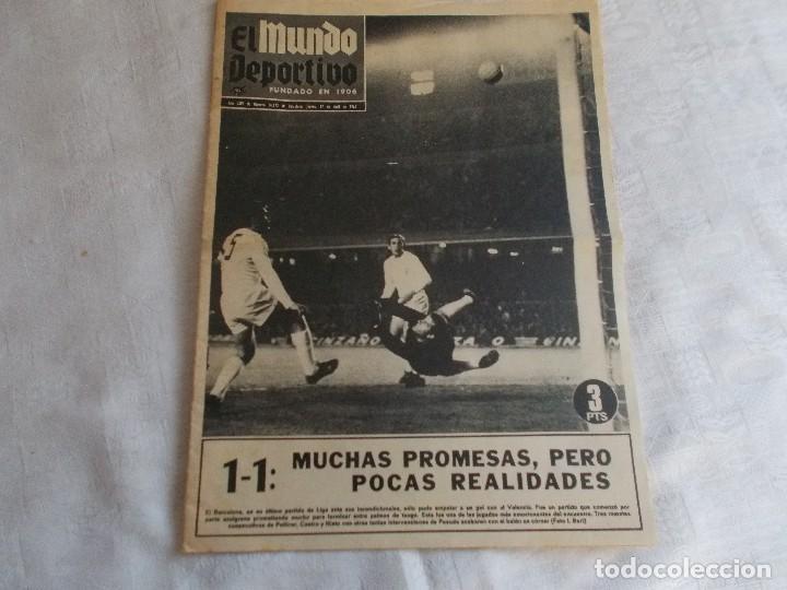 EL MUNDO DEPORTIVO JUEVES 17 DE ABRIL 1969 (Coleccionismo Deportivo - Revistas y Periódicos - Mundo Deportivo)