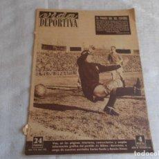 Coleccionismo deportivo: VIDA DEPORTIVA 12 DE ENERO 1953. Lote 98881031