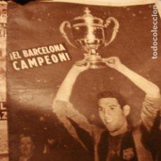 Coleccionismo deportivo: VIDA DEPORTIVA BARÇA F C BARCELONA CAMPEON 1959 BOXEO FUTBOL. Lote 98924647