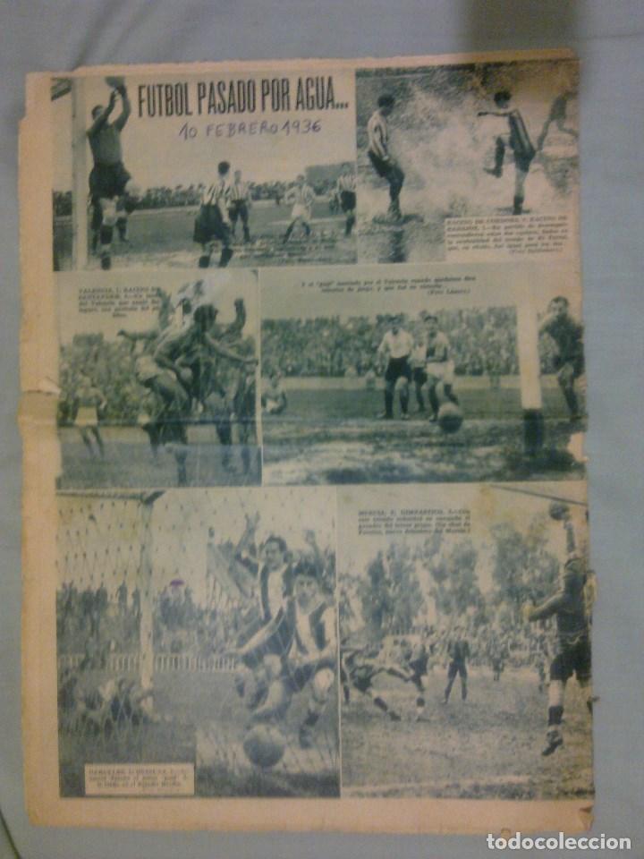 Coleccionismo deportivo: AS - 10 FEBRERO DE 1936 - Foto 2 - 98969799