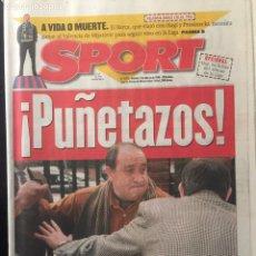 Coleccionismo deportivo: SPORT - N 5872 - ¡ PUÑETAZOS !. Lote 99447612