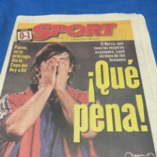 Coleccionismo deportivo: SPORT - N 5904 - 11/04/1996 ATLÉTICO MADRID CAMPEÓN COPA DEL REY. BARCA,0-ATLÉTICO,1. Lote 99470675
