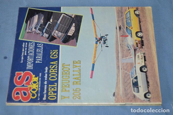 Coleccionismo deportivo: Lote 5 Revistas - AS Color - Años 80 / 90 - Núm 160, 209, 251, 254 y 273 - Están completos - ¡Mira! - Foto 2 - 99929239