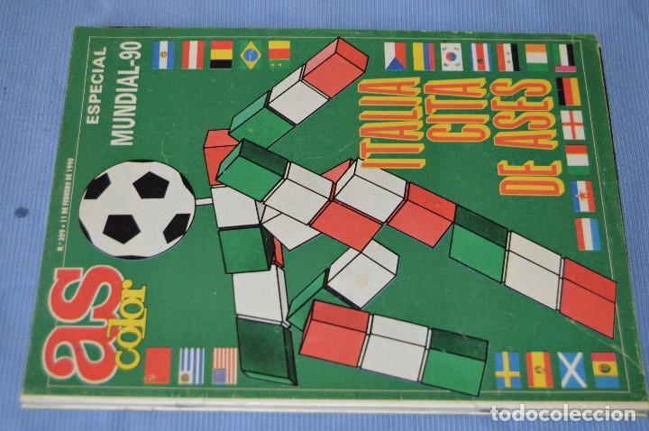 Coleccionismo deportivo: Lote 5 Revistas - AS Color - Años 80 / 90 - Núm 160, 209, 251, 254 y 273 - Están completos - ¡Mira! - Foto 4 - 99929239