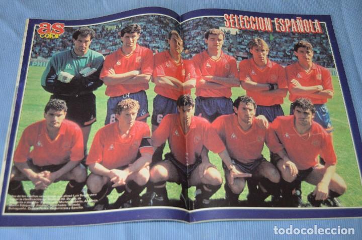 Coleccionismo deportivo: Lote 5 Revistas - AS Color - Años 80 / 90 - Núm 160, 209, 251, 254 y 273 - Están completos - ¡Mira! - Foto 5 - 99929239