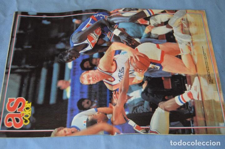 Coleccionismo deportivo: Lote 5 Revistas - AS Color - Años 80 / 90 - Núm 160, 209, 251, 254 y 273 - Están completos - ¡Mira! - Foto 10 - 99929239