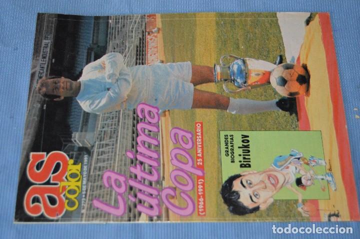 Coleccionismo deportivo: Lote 5 Revistas - AS Color - Años 80 / 90 - Núm 160, 209, 251, 254 y 273 - Están completos - ¡Mira! - Foto 11 - 99929239