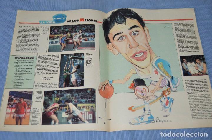 Coleccionismo deportivo: Lote 5 Revistas - AS Color - Años 80 / 90 - Núm 160, 209, 251, 254 y 273 - Están completos - ¡Mira! - Foto 12 - 99929239