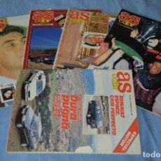 Coleccionismo deportivo: LOTE 5 REVISTAS - AS COLOR - AÑOS 80 / 90 - NÚM 169, 177, 215, 256 Y 319 - ESTÁN COMPLETOS - ¡MIRA!. Lote 99934023