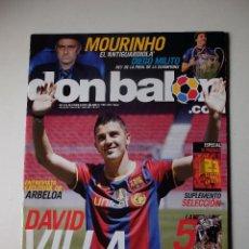 Coleccionismo deportivo: REVISTA DON BALON 1804. SEVILLA CAMPEÓN DE LA COPA DEL REY 2010. INCLUYE POSTER.. Lote 100156307