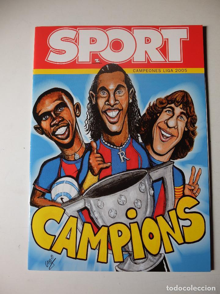 REVISTA ESPECIAL SPORT FC BARCELONA CAMPEON DE LIGA 2004/2005. BARÇA CAMPIONS (Coleccionismo Deportivo - Revistas y Periódicos - Sport)