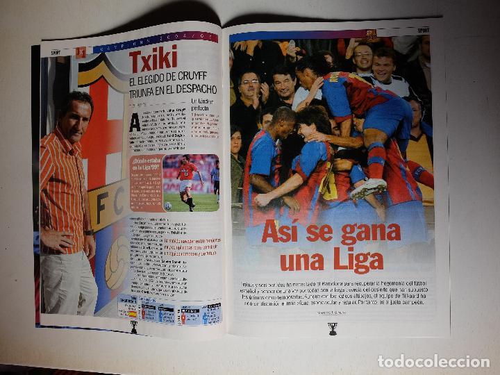 Coleccionismo deportivo: REVISTA ESPECIAL SPORT FC BARCELONA CAMPEON DE LIGA 2004/2005. BARÇA CAMPIONS - Foto 2 - 100159811