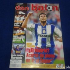 Coleccionismo deportivo: DON BALON Nº 1361 NOVIENBRE 2001 COMPLETO POSTER XAVI - HASTA SIEMPRE MARADONA - VALENCIA. Lote 100242047