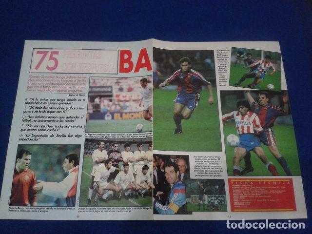 Coleccionismo deportivo: POSTER DON BALON FC BARCELONA , CAMPEON DE LA SUPERCOPA 1991 - 1992 - Foto 2 - 100251411