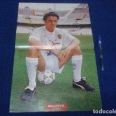 Coleccionismo deportivo: POSTER DON BALON MIJATOVIC - CRACKS DE LA LIGA 92 - 93. Lote 100252771