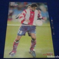 Coleccionismo deportivo: POSTER DON BALON KIKO ATLETICO DE MADRID TEMPORADA 99/2000 DE 42 X 30. Lote 100257551