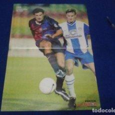 Coleccionismo deportivo: POSTER DON BALON LUIS FIGO F.C. BARCELONA TEMPORADA 99 - 2000 DE 42 X 30. Lote 100258483