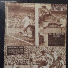 Coleccionismo deportivo: VIDA DEPORTIVA-N 741-30/11/1959. COPA EUROPA.BARCELONA,5-MILÁN,1. Lote 100279075