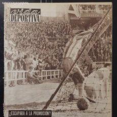 Coleccionismo deportivo: VIDA DEPORTIVA-N 815-24/04/1961.EUROCOPA. ESPAÑA,2-GALES,1. Lote 100279396