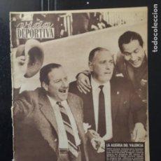 Coleccionismo deportivo: VIDA DEPORTIVA-N 808-6/03/1961.COPA EUROPA.SPARTAK,BURNLEY,HAMBURGO. Lote 100279655